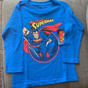 Other - Boys Superman Long sleeve Tee